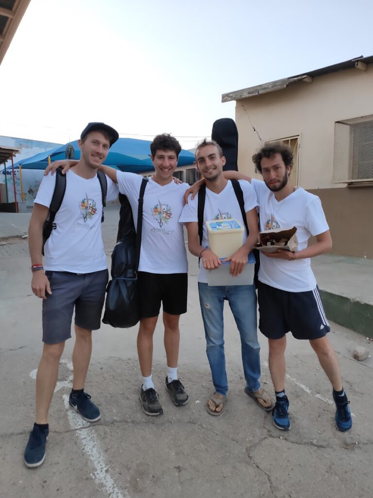 L'équipe de l'ASBNC